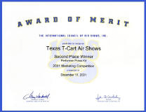 Award of Merit 2001