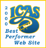 ICAS Best Performer Web Site 2000