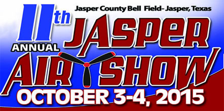 11th Annual Jasper Air Show: October 3-4, 2015