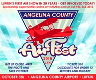 Angelina AirFest: October 8, 2016