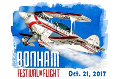 Bonham Festival of Flight: October 21, 2017 in Bonham, TX