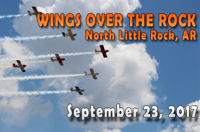 Wings over the Rock Airshow: September 23, 2017 in North Little Rock, AR