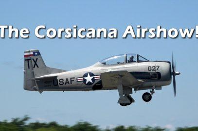 Corsicana Airshow: May 19, 2018 in Corsicana, TX