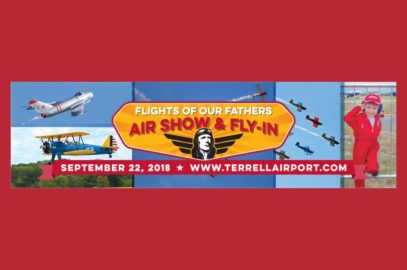 Flights of Our Fathers Air Show & Fly-In: September 22, 2018, in Terrell, TX