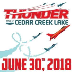 Thunder Over Cedar Creek Lake 2018